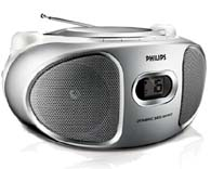 Imagen Radio CD Philips Reproduccion de CD, CD-R y CD-RW
