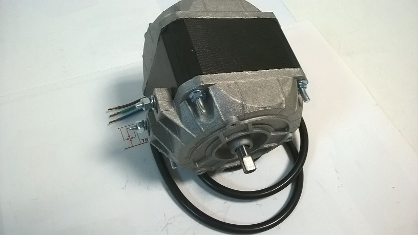 Imagen Motor 95 W. 240 V 1300 RPM. Eje 8 mm. Con chaflan